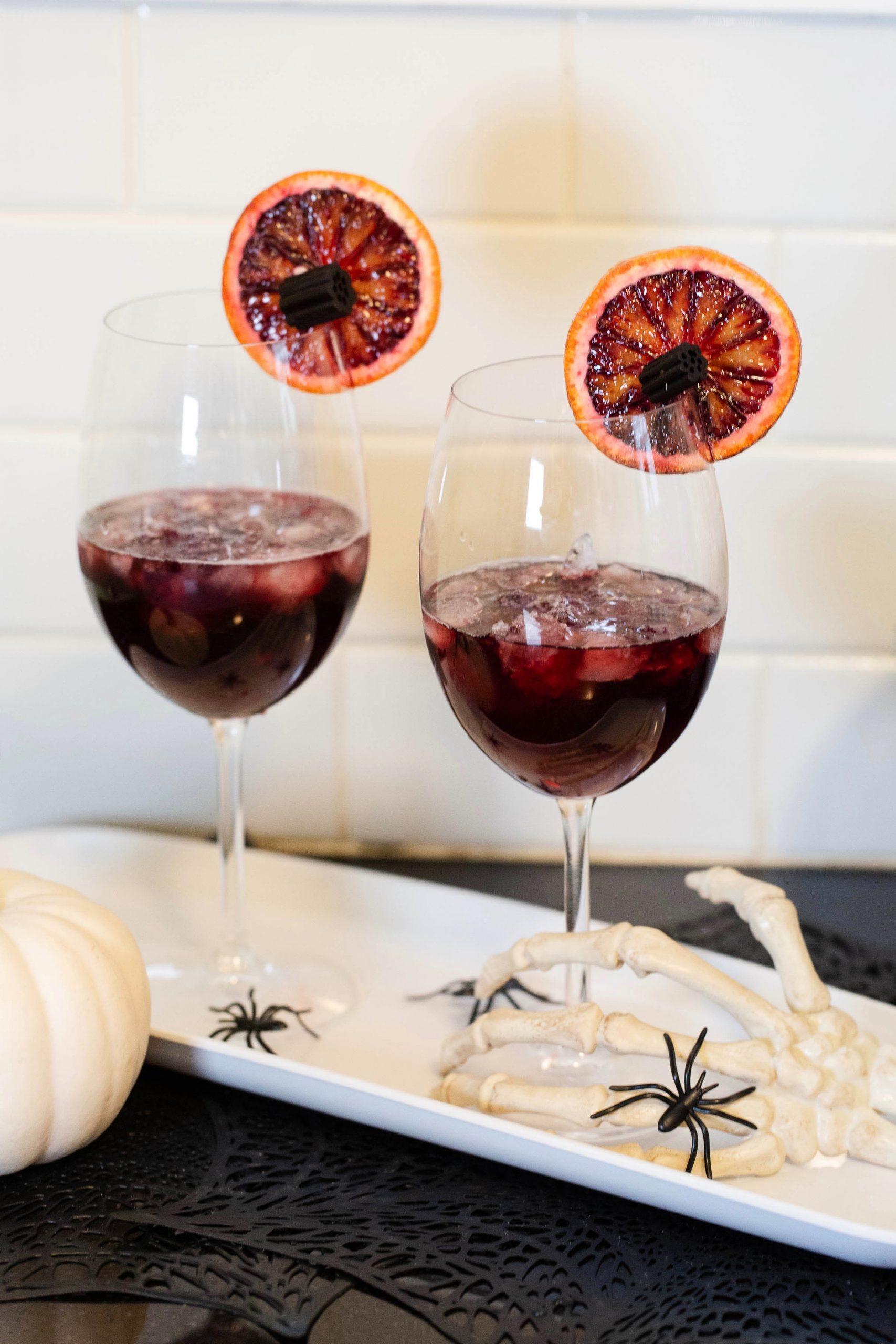 blood orange Lambrusco Spritz-2