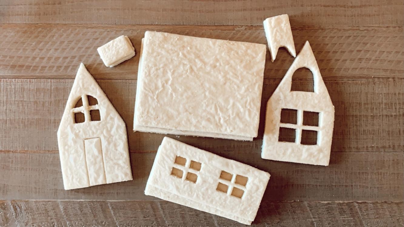 sugar cookie house DIY-8