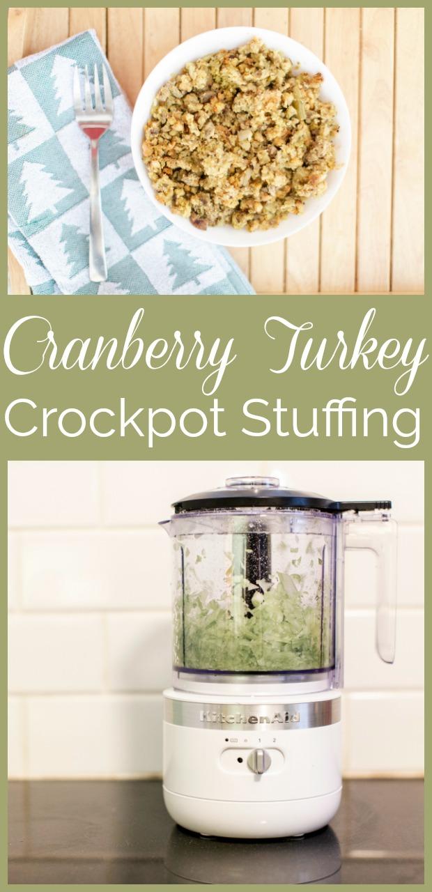 Cranberry Turkey Stuffing-10