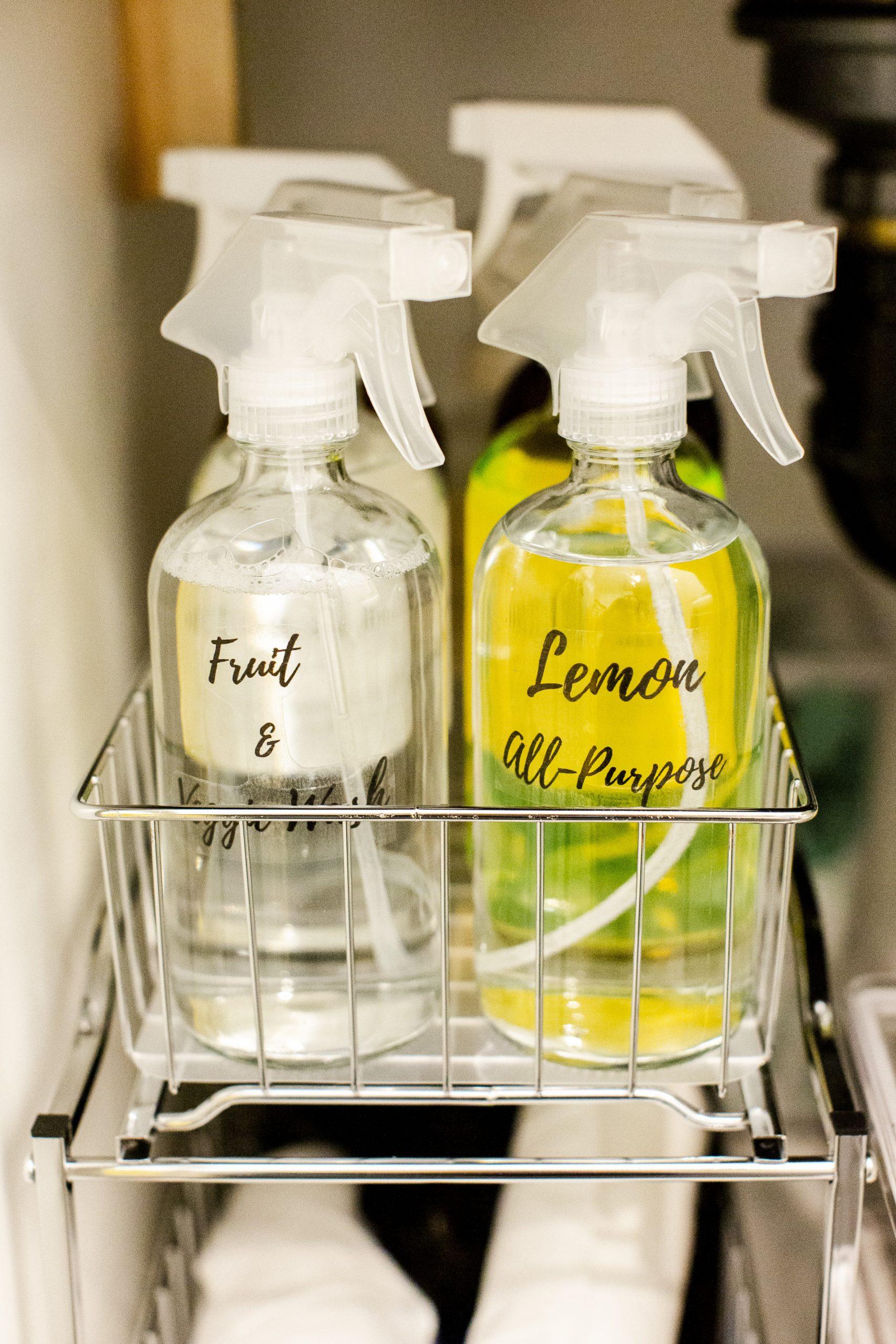 How To Organize Under Your Kitchen Sink-6