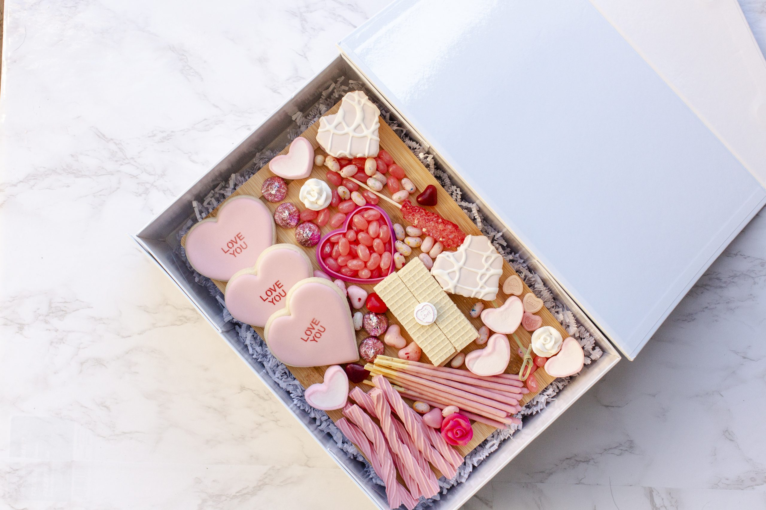 Valentine's Day Treat Tray-7