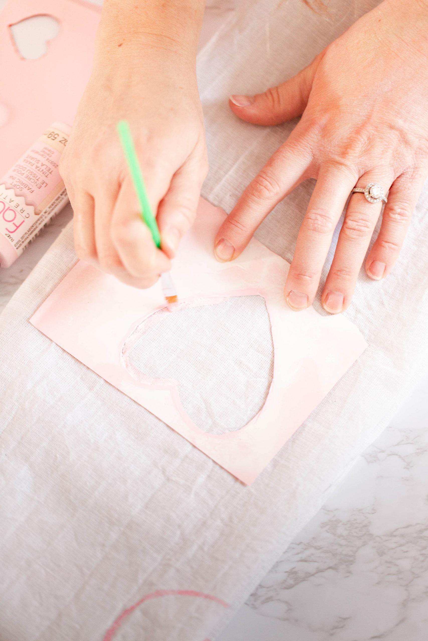DIY Hand-painted tea towels-4