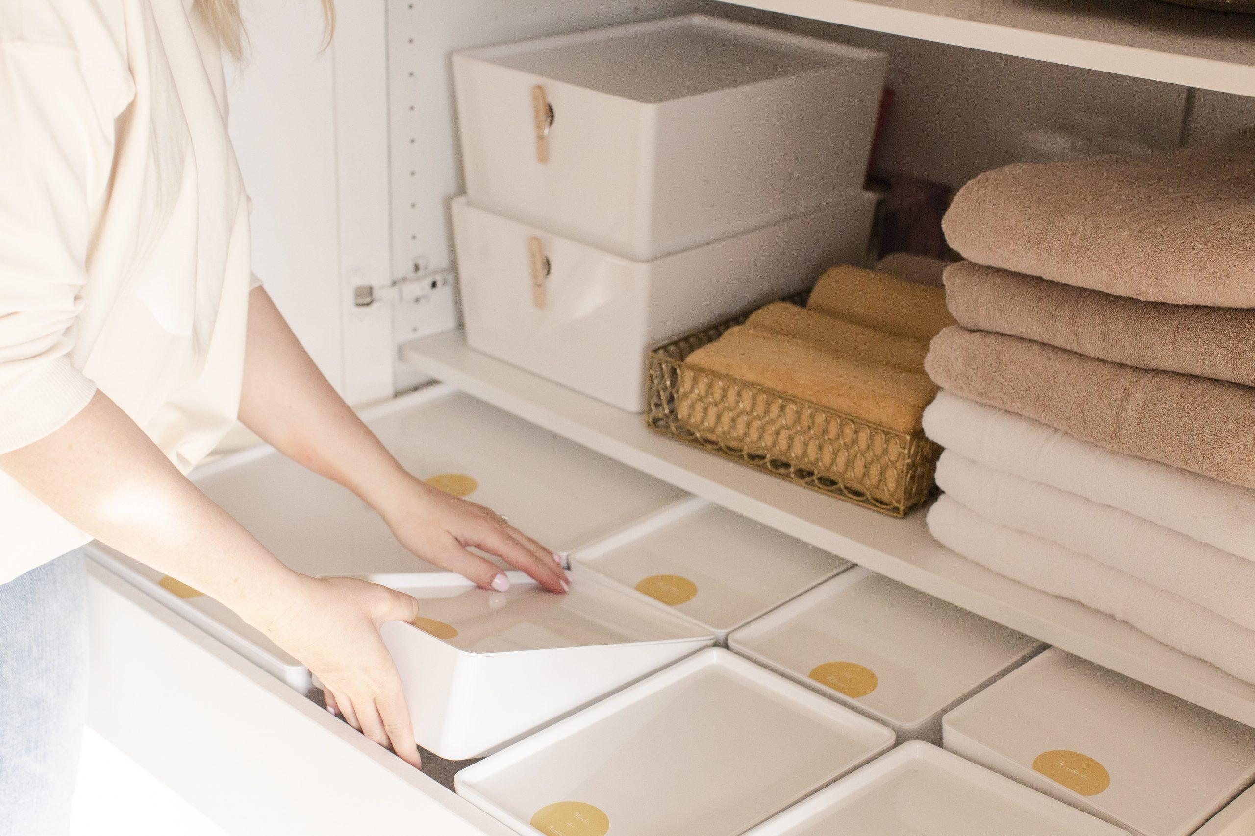Ikea Hack: Wardrobe Turned Linen Closet-8